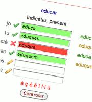 Pratiquer temps complets de verbes catalans
